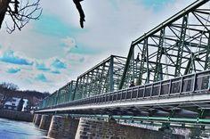 Lambertville bridge over Delaware