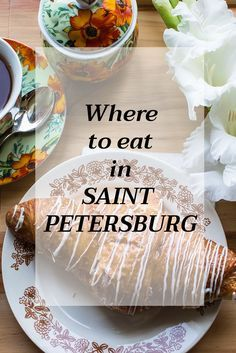 Travelling around Russia: places to eat in St. Petersburg