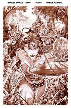 Wonder Woman 600  by ~manapul