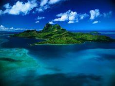 Aerial View of Bora Bora Paradise Wallpaper, Beach Wallpaper, Images Wallpaper, Live Wallpapers, Nature Wallpaper, Wallpaper Desktop, Wallpaper Maker, Computer Wallpaper, Images Google