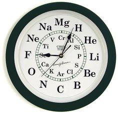I need this! Chem Time Clock | Chemistry science experiments, teaching & education tools: Educational Innovations