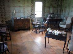 Interior of the Stencil House.