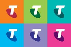 Pretty Telstra Colours
