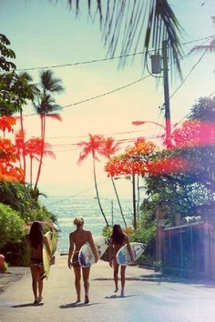 Ahh this is my two girlfriends and i (well it will be us!), when we visit Escape Haven in Bali in July (a surf/yoga retreat). Absolutely cannot wait!  Image from Surf Haven : Jimbaran Bay, Bali