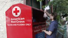 Red Cross Installs Blood Drop-Off Bins For Donors' Convenience - The Onion - America's Finest News Source