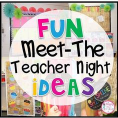 Fun Meet-the-Teacher Night/ Back to School Ideas! Happy Days in First Grade back to home school, back to school adults, back to the futur Meet-the-Teacher Night/ Back to School Ideas! Happy Days in First Grade Back To School Night, 1st Day Of School, Beginning Of The School Year, School Daze, School Fun, Middle School, Communication Avec Les Parents, Preschool Open Houses, Kindergarten Open House Ideas
