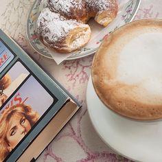 "@ladykallisti on Instagram: ""All vintage ~ Fio Cafè, via S. Felice 43 #cappuccino #cappuccioebrioche #croissant #powderysugar #vintage #vintageaesthetic #thinkveryfilm…"" Food Fantasy, Croissant, Vintage, Instagram, Strands, Crescent Roll, Vintage Comics, Crescent Rolls, Breakfast Croissant"