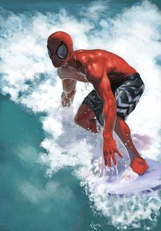 Spider-Man - California Dreaming by Kodi Enetanya