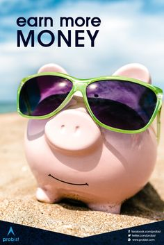 Earn More Money, Extra Cash, You Videos, Dream Vacations, Piggy Bank, Dreaming Of You, Flow, Join, Success