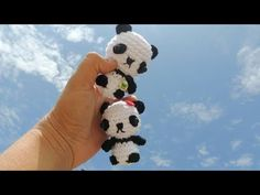 YouTube Amigurumi Toys, Amigurumi Patterns, Crochet Animals, Crochet Toys, Crochet Keychain, Cute Toys, Crochet Videos, Knitted Dolls, Do It Yourself