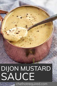 Garlic Recipes, Sauce Recipes, Yummy Recipes, Slow Cooker Recipes, Crockpot Recipes, Cooking Recipes, Dijon Mustard Sauce, Salmon Dishes, Recipes