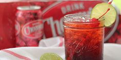 Cheerwine Cocktail - easy delicious and very Southern!