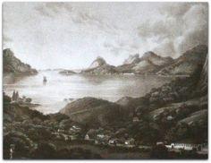 Lagoa Rodrigo de Freitas com o Morro do Corcovado.