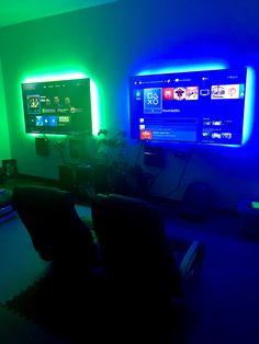 Gaming Lounge, Gaming Room Setup, Gaming Rooms, Gaming Shelf, Lan House, Playstation, Ps4, Video Game Shop, Gaming Center