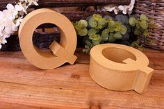 """Γράμμα """"Q"""" Papier Mache  Γράμμα """"Q"""" papier mache.Xρησιμοποιήστε τα ως έχουν, ή διακοσμήστε τα με όποια τεχνική θέλετε. Κολλήστε Washi Tapes, διακοσμήστε με σφραγίδες ή ζωγραφίστε τα, συνδυάστε μικρά ξύλινα ή μεταλλικά διακοσμητικά στοιχεία, κορδέλες, κορδόνια και ότι άλλο μπορείτε να φανταστείτε. Ιδανικά και ως βάση για Ντεκουπάζ. Washi, Symbols, Icons, Glyphs"""