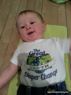 The Median Mommy: The Great Cloth Diaper Change 2013