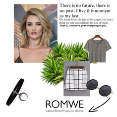 """""""Romwe 33"""" by zerina913 ❤ liked on Polyvore featuring Whiteley and romwe"""