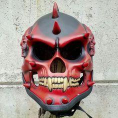 Hector El Father, Billy The Puppet, Skull Helmet, Custom Helmets, Daddy Yankee, Car Shop, The Body Shop, Handmade Crafts, Fun Crafts