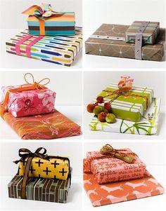 Unique Gift Wrap | Unique gift wrap ideas |