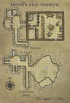 Devil's Rite Tavern #dnd #pathfinder #rpg
