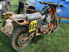 Harley-Davidson Motocross Sidecar outfit