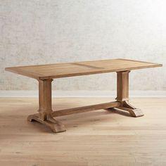 "Dawson Walnut Brown 82"" Dining Table | {Furniture options ..."
