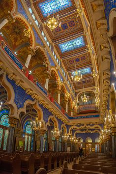 Sacred Architecture, Religious Architecture, Beautiful Architecture, Beautiful Buildings, Beautiful Places, 4k Photography, Landscape Photography, Jewish Synagogue, Arte Judaica