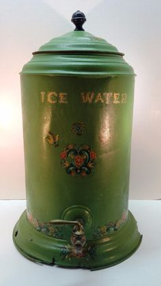20in tall Antique Water Cooler 1880's Primitive Device