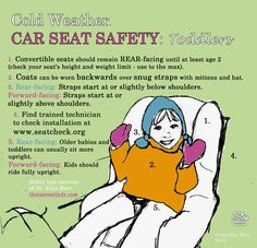 A Gogel Auto Sales rePin. See us for used car purchase you can count on.  Cold Weather Car Seat Safety Tips You Need to Know Now: Part 2