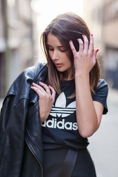 Adidas Sporty Chic Tee / Athleisure