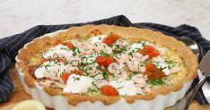 Västerbottenpaj med rom och räkor Vegetable Pizza, Quiche, Casserole, Food And Drink, Vegetables, Breakfast, Desserts, Rolls Royce, Twitter
