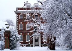 Rainham Hall (not really a country house but looks lovely in snow)