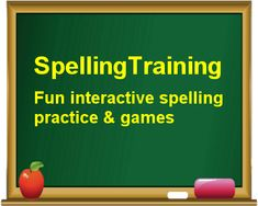 Fun interactive spelling games for kids in early elementary years (grades 3 and Type, listen and learn English – preparing to your spelling test can be as simple as that! A free online website. Spelling Games For Kids, Spelling Word Practice, Spelling Lists, Spelling Activities, Spelling Words, Spelling Ideas, Reading Activities, Math Games, Fun Games