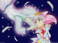 Sailor mini moon & Pegasus