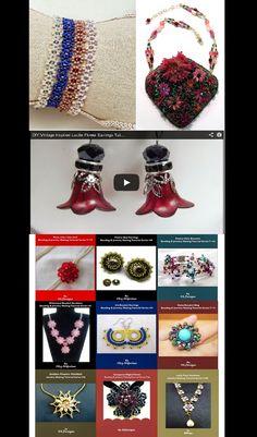 DIY Flower Shaped Jewelry
