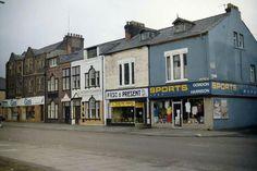 WIDNES ROAD WITH GORDON HARRISON 'S SPORTS SHOP Sports Shops, Bridge, Legs, Attic, Bro
