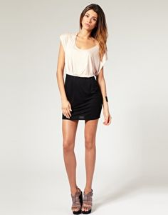 Color-block dress on sale only $23.78