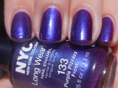 NYC Purple Pizzazz.  Such a pretty color.