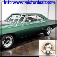 1968 Dodge superb Superb dark green Dodge 1968 Mileage: 56,111 miles, 383 V8, 3 speed automatic transmissions 727; sold by a dealer. Vehicle located in Houston in the state of Texas in the United States. Vehicle sold as is in good condition. VIN (used as reference): WM21H8G238536. The numbers correspond. Price: $ 18,999. For more information call us at 08-05-08-02- 81ou log on www.misterdeals.com.