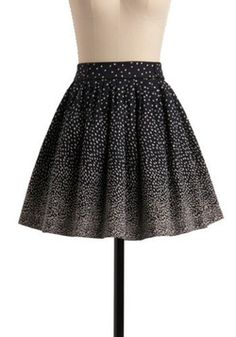 Sprinkled with Sweetness Skirt in Navy, #ModCloth