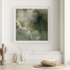 Printed artwork: Green landscape   2020  100 x 100 cm  Mixed media of ink wash movement, digitally captured & printed on archival quality paper  Edition of 5  Signed Artwork Prints, Fine Art Prints, Ink Wash, Green Landscape, Macro Photography, Mixed Media, Landscapes, Printed, Paper