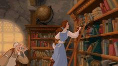 When you're at the library to study but you see your friend. | 42 Disney Reaction Gifs For Any Situation