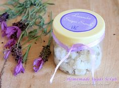 DIY: Lavender Jasmine Sugar Scrub · Bath and Body | CraftGossip.com - Oh me oh my! This sounds DIVINE!