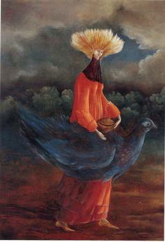 Leonora Carrington, Portrait of the late Ms. Patridge (1947)