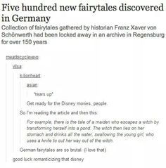 i want to read these fairy tales