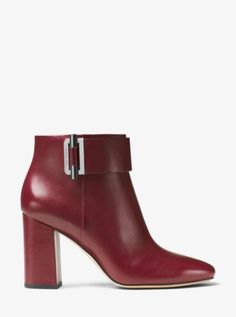 A sleek style done in buttery leather, this ankle boot is the richest way to…