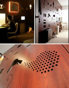 A Form Fitting Function Wall Space
