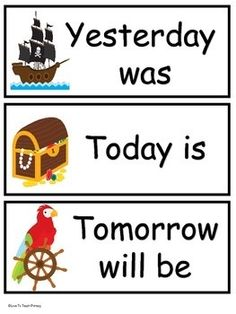 Calendar signs and more for the Pirate Themed Classroom! Classroom Resources, Classroom Themes, Classroom Organization, Future Classroom, School Classroom, Pirate Signs, Birthday Congratulations, Calendar Board, Pirate Theme