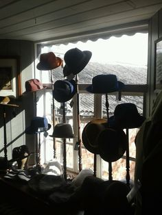 Hat display. Looking for ideas for Mouse Ear display.
