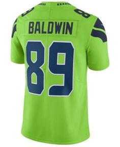 NIKE MEN'S DOUG BALDWIN SEATTLE SEAHAWKS LIMITED COLOR RUSH JERSEY. #nike #cloth #